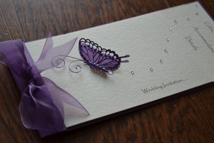 Handmade cheque book wedding invitations by HandmadeStationery