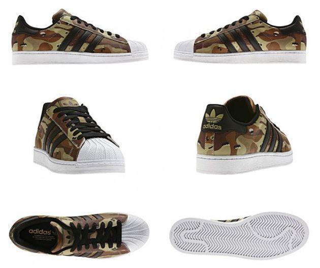 Adidas Originals Superstar II – Desert Camo