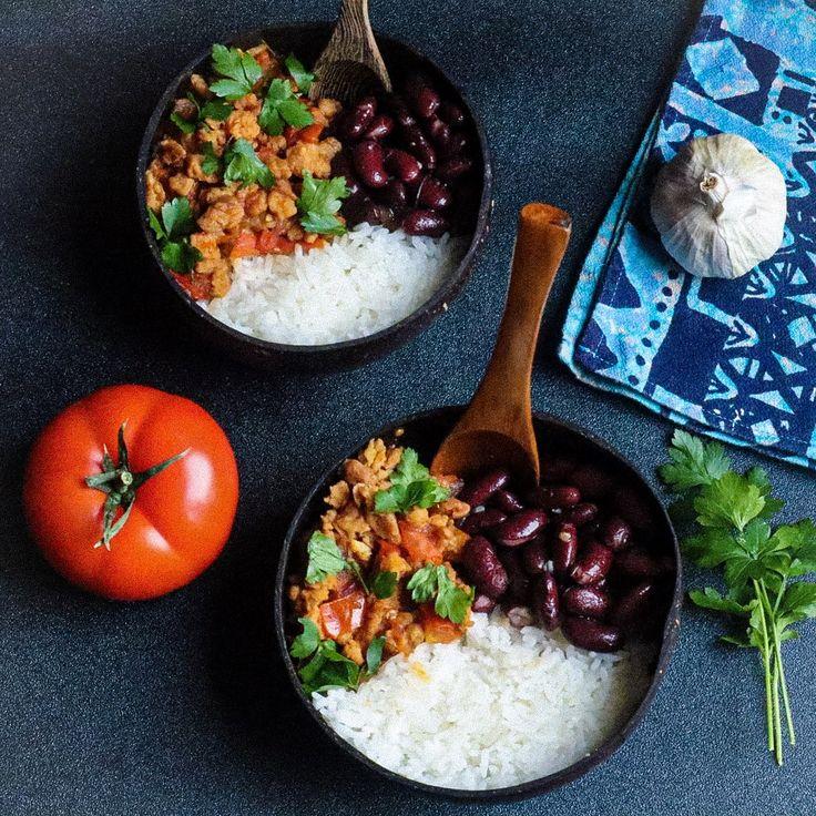 Cliquez ici pour avoir la recette du cari de soja texturé | Protéines de soja texturées ...