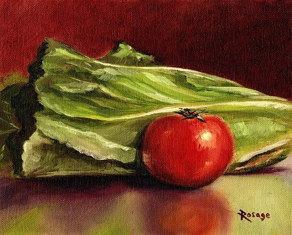Where's the Bacon? by Bernie Rosage Jr., Prints and Cards available from this painting.