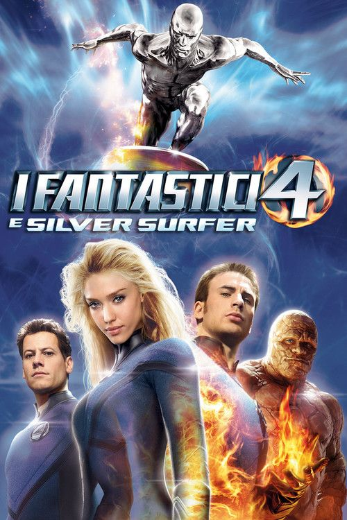 Watch Fantastic 4: Rise of the Silver Surfer (2007) Full Movie Online Free