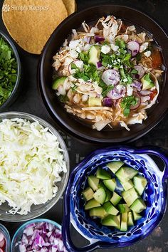 Chipotle Turkey Pozole ~ Serve your turkey leftovers with a Mexican flair. Turkey pozole hominy soup seasoned with smokey chipotle chiles. ~ SimplyRecipes.com