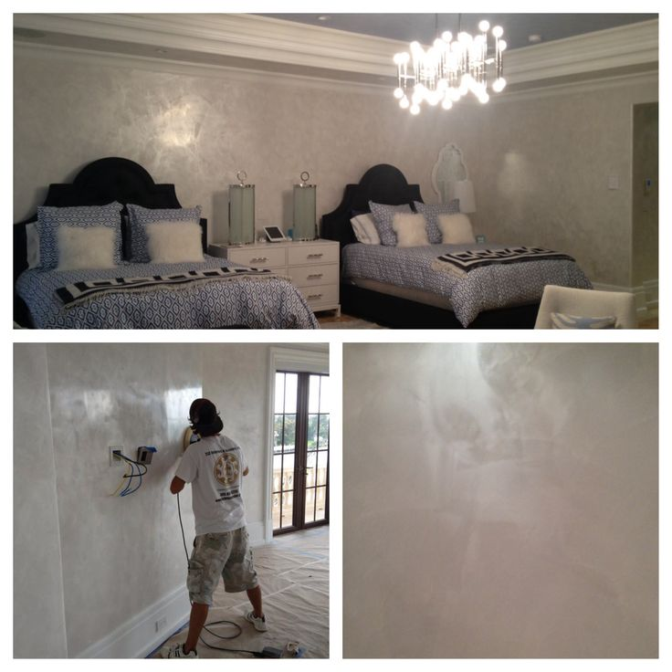 Mens Bedroom Paint Colors Bedroom Plaster Ceiling Design Bedroom Sofas And Chairs Birch Tree Wallpaper Bedroom: White Venetian Plaster With Silver Wax Then High Speed