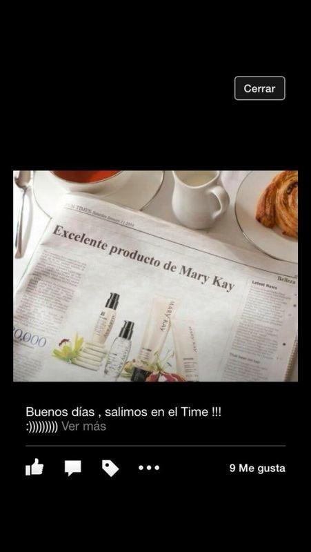 En el Times :) #excelente #producto #marykay
