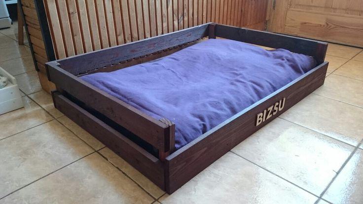 Pallet dog bed from www.kalappraklap.tk / raklap rutyaágy