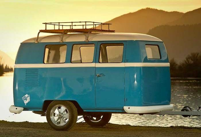 VW Camper Trailer