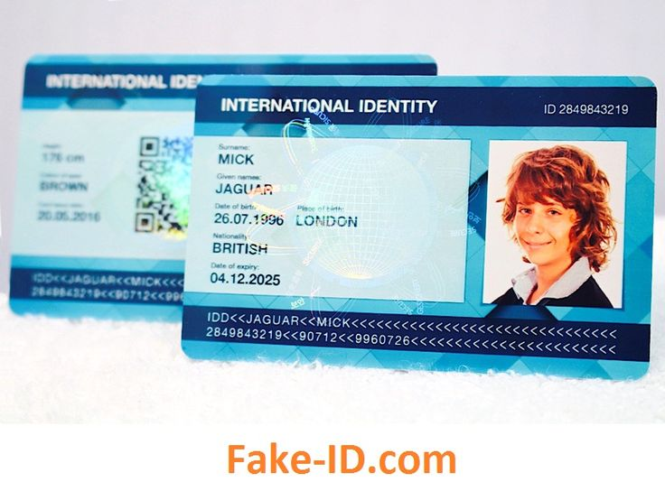 how to make your own fake id