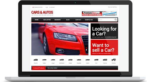 PremiumPress Car Dealer WordPress Theme