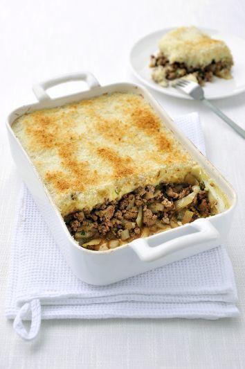 Een overheerlijke ovenschotel met rundergehakt en witloof, die maak je met dit recept. Smakelijk!