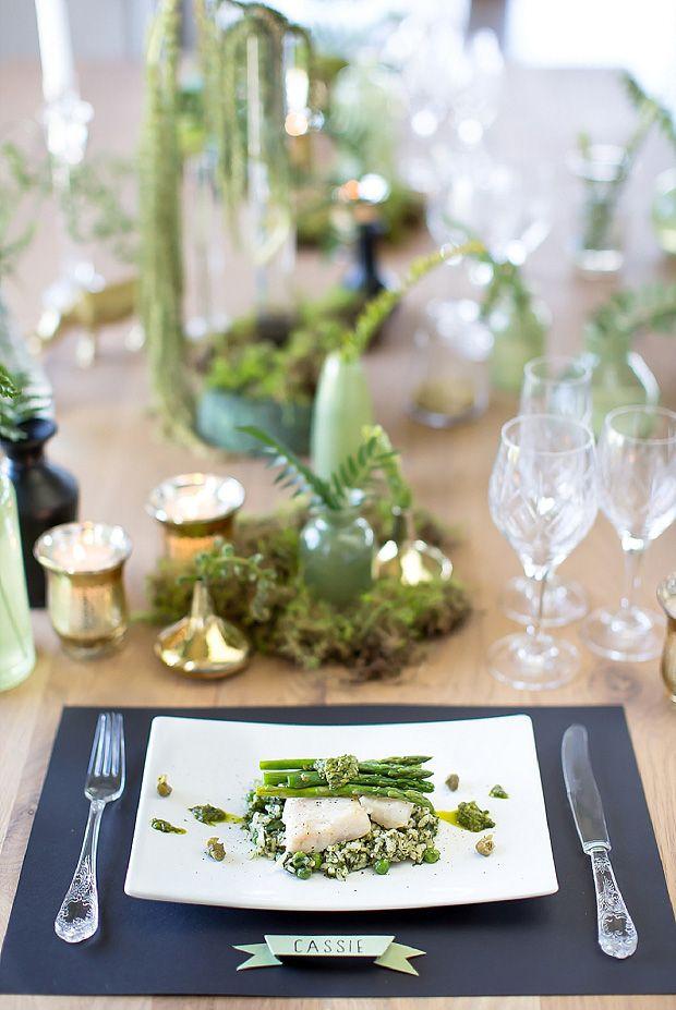 Сервировка свадебного стола: 4 актуальных палитры!