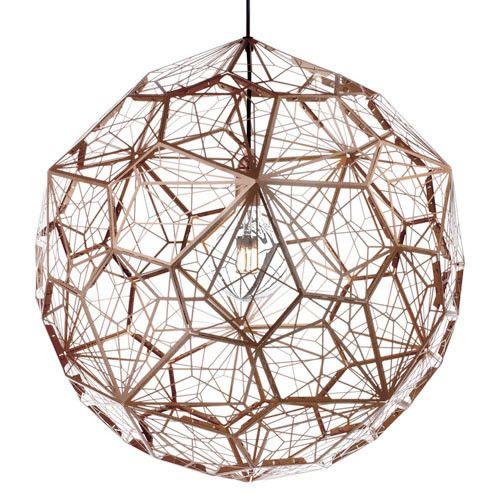Replica Tom Dixon Etch Web Pendant Light Stainless Steel 60cm | Pendants | Staircase & Entrance | Shop By | GoLights.com.au