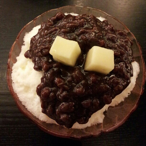 Patbingsu #patbingsu #팥빙수 #koreanfood #koreacosmeticbrand #webstagram #wishtrend #redbean - @WISHTREND- #webstagram