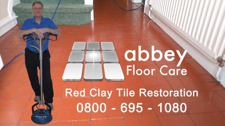 If you need help with cleaning quarry tiles or any other kind of stone floor restoration to a beautiful finish call Abbey. We can help you to Bringing The Beauty Back To Red Clay Tiles. Go trough the link to explore more.  #RedClayTilesRestoration