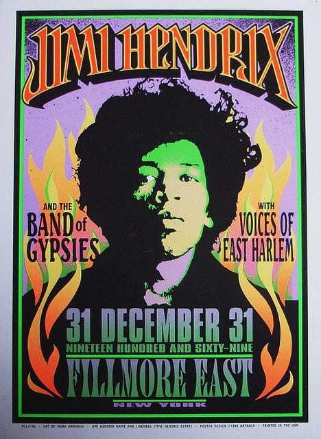 Jimi HendrixPicture-Black Posters, Jimi Hendrix, Fillmore East, Hendrix 1969, Fillmore Concerts, Fillmore Posters, Music Posters, Jimihendrix, Concerts Posters