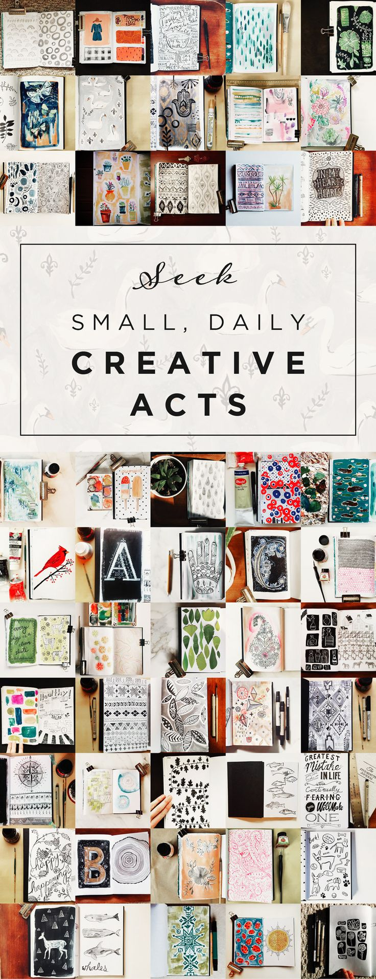The Halfway Point of 2015 — TWO IF BY SEA STUDIOS. Creative inspiration. Art journal inspiration