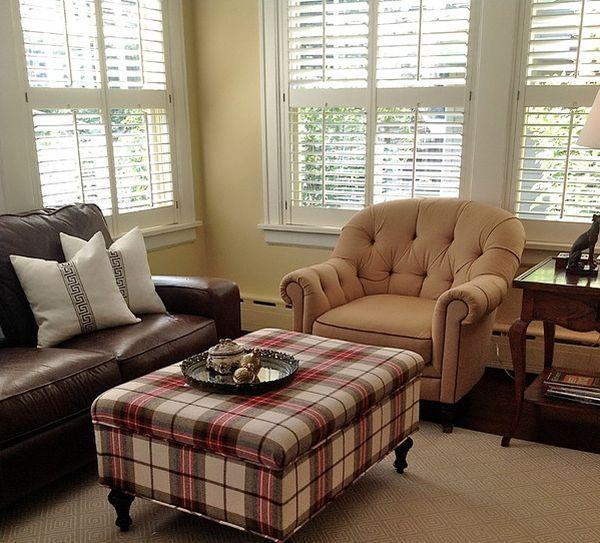 Tartan Themed Living Room
