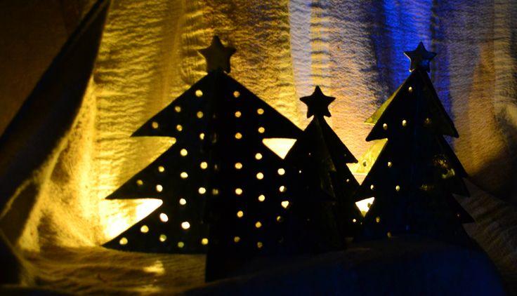 Ceramiczne choinki #ozdoby świąteczne