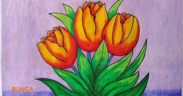 Paling Keren 12 Gambar Bunga Matahari Sketsa Warna Galeri Gambar Bunga Matahari Bunga Matahari Adalah Salah Satu Je Gambar Bunga Bunga Tulip Menggambar Bunga