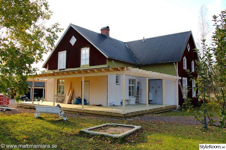 uteplats,renovering,hall,amerikansk veranda