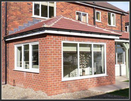 Garden room with tiled roof garden room pinterest for Garden room extensions