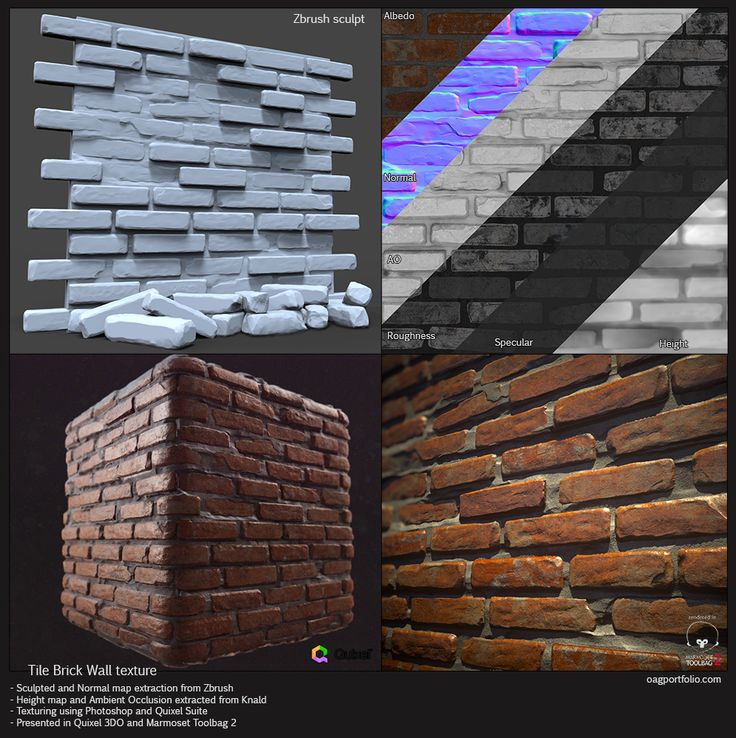Tile Brick wall - Polycount Forum