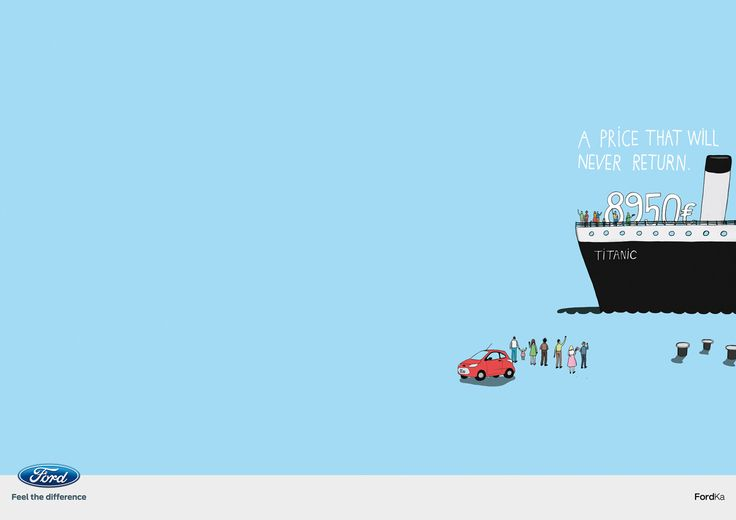 Ford Ka: Titanic