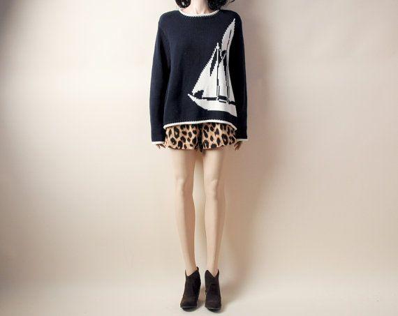 nautical sweaterNautical Sweaters, Nautical Sailboats, Sailboats Sweaters, Nautical Navy, Sweaters 45, Oversized