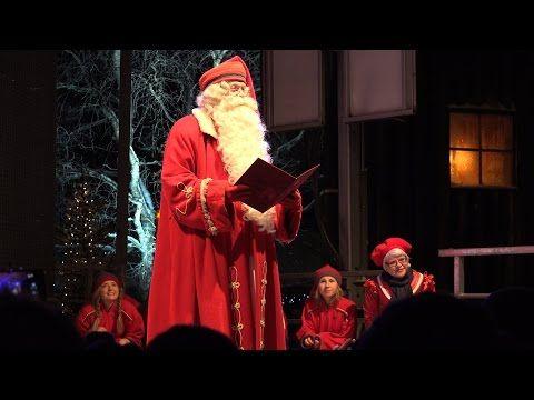 Inauguración de la Navidad en el Pueblo de Papá Noel en Rovaniemi en Laponia