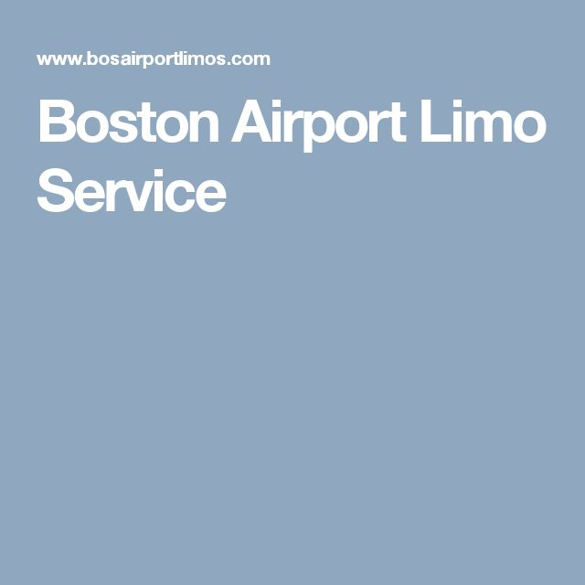 Boston Airport Limo Service  if you are tourists and visitors want to reach on time on your desired destination. Bos airport limo service serve you in best possible facilities & reasonable in pricing.Call Now 1-800-966-8998