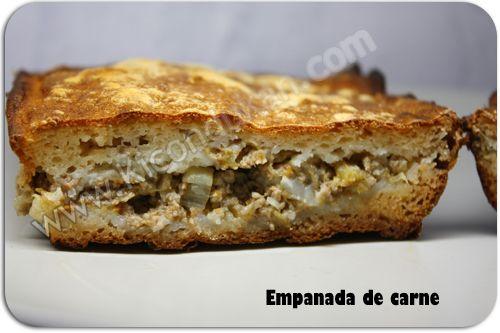 Ki con Dukan: receta fase de crucero pp Empanada