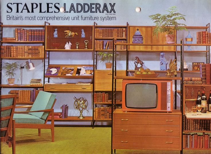 Staples Ladderax modular furniture system catalogue cover.
