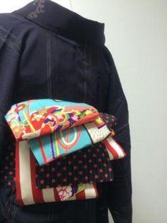 Multi-patterned obi