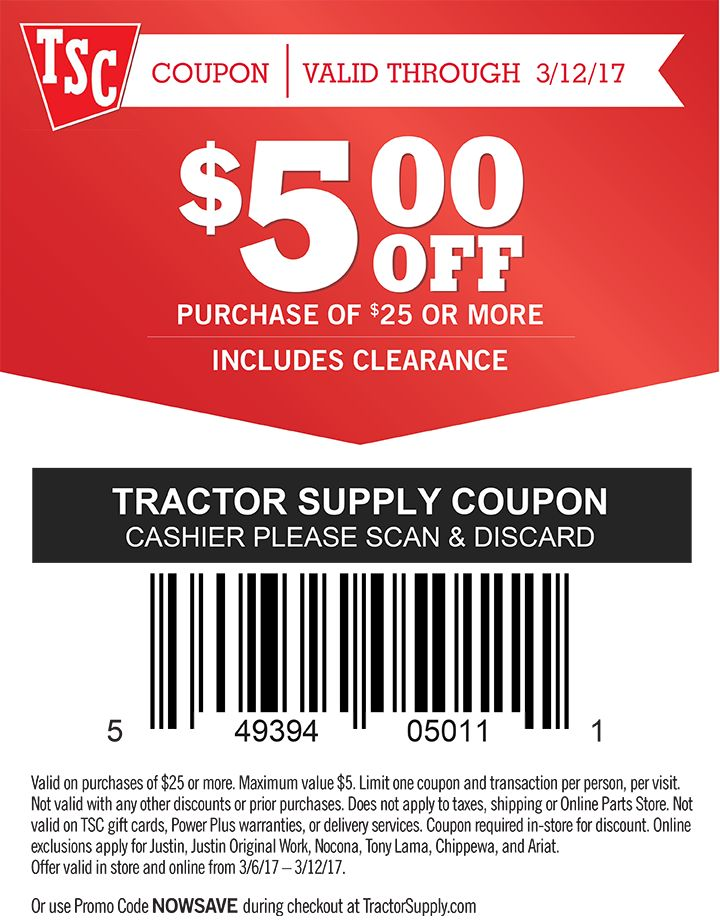 The Tractor Supply Co. brand has long been synonymous with quality goods and friendly customer service. This legacy was brought forward into the 21st century when Tractor Supply Co. opened its online store for business at get-raznoska.tk Visit get-raznoska.tk to find all of the farm and outdoor equipment that you could ever need.