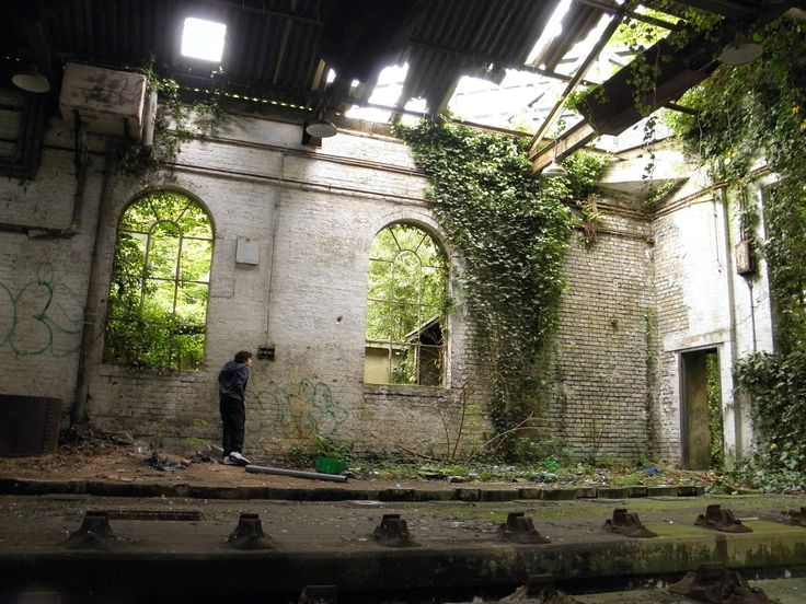 Abandoned Places in England | Abandoned Train Station- July 2012 - Derelict Places