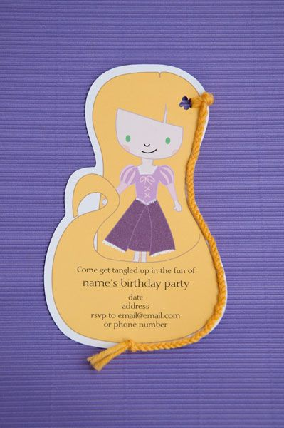 Tangled Rapunzel birthday party
