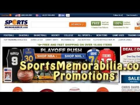 SportsMemorabilia Coupons - SportsMemorabilia.com Coupon Codes Video Tut...