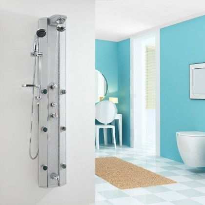 Thermostatic Multi Function Shower Tower Panel System With