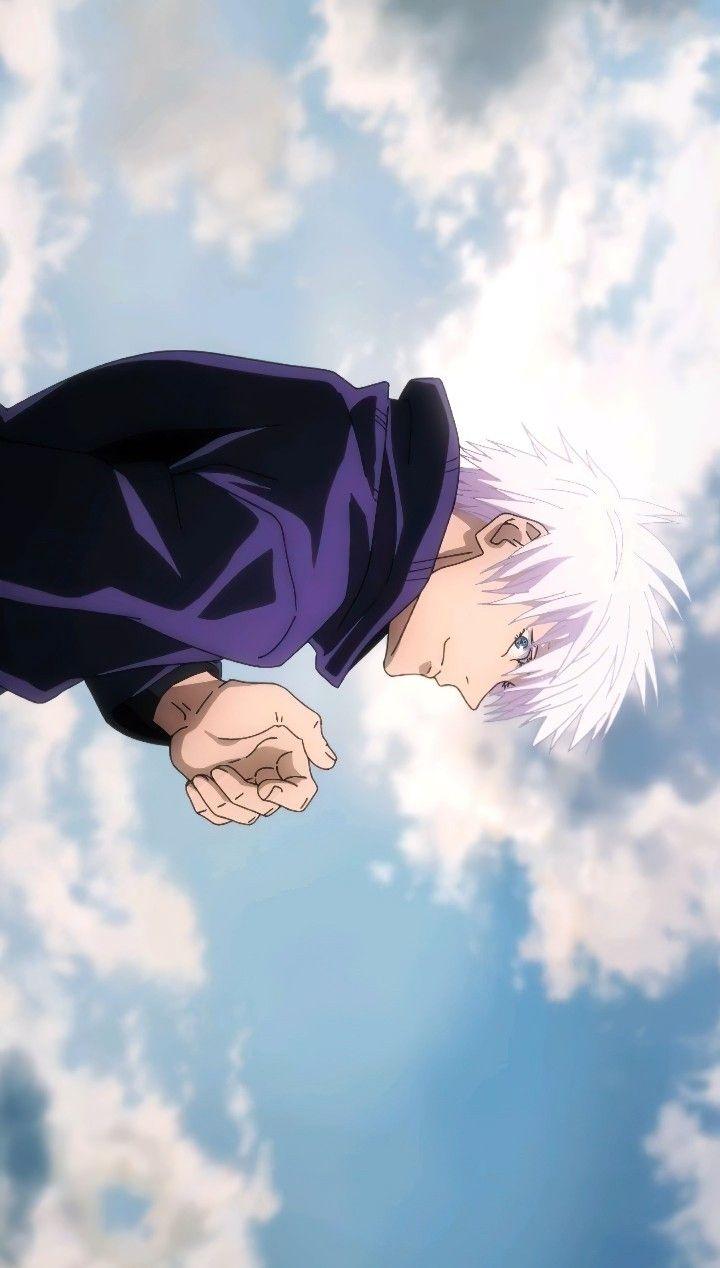 Gojo Satoru Jjk Episode 20 In 2021 Jujutsu Anime Anime Wallpaper