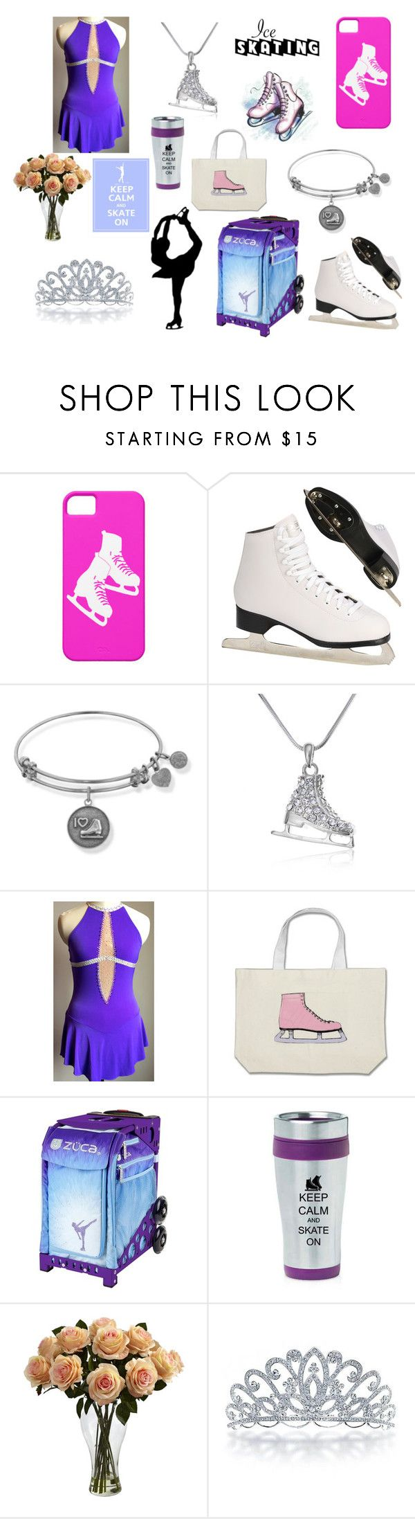 """""""Ice Skating Show Outfit (dedicated to me)"""" by nmekonnen28 on Polyvore featuring Nearly Natural, Bling Jewelry, women's clothing, women's fashion, women, female, woman, misses and juniors"""
