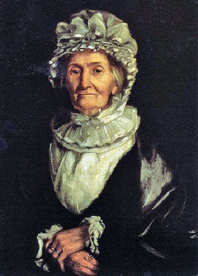 Captain James Cook's wife, Elizabeth, by William Henderson, 1830