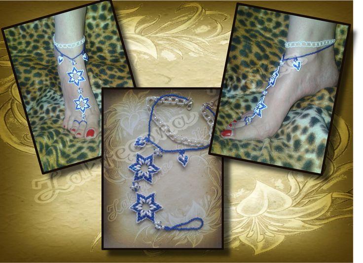 bransoletka na stopę/bracelet on leg