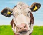 Cards - Original Cow Painting Cards - Lauren's Cows