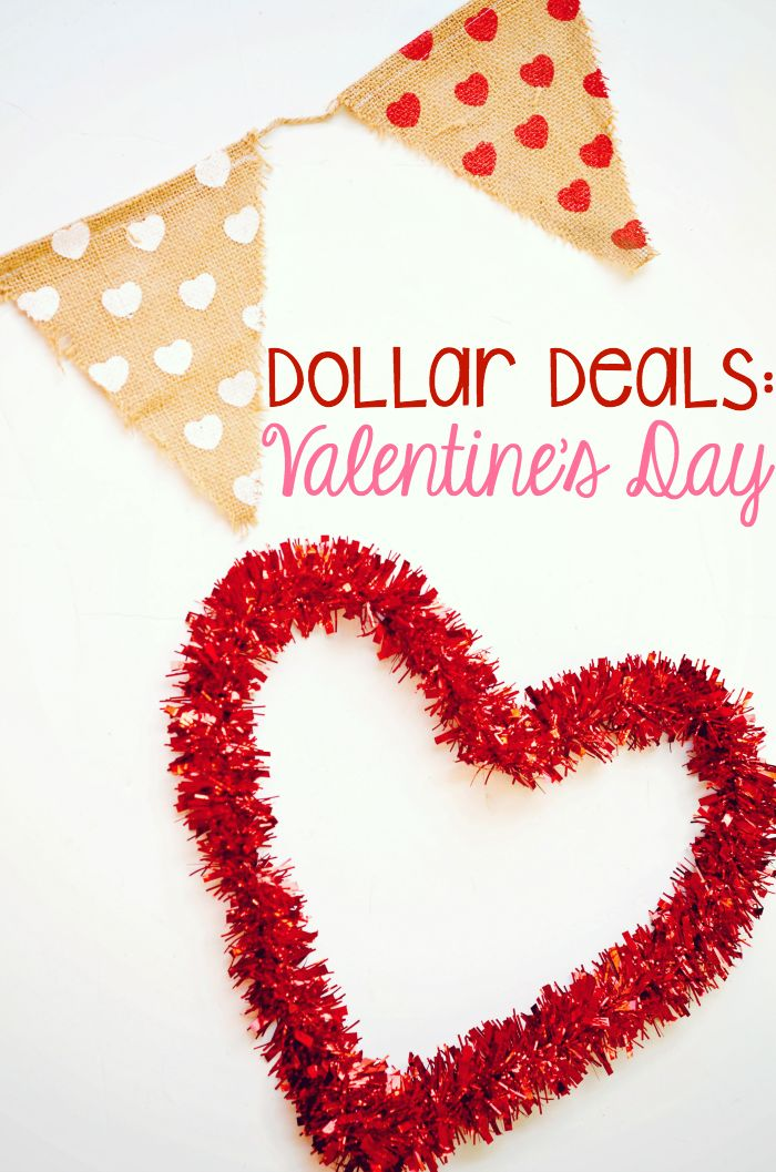 dollar deals cheap valentines day decor gifts - Cheap Valentine Gifts