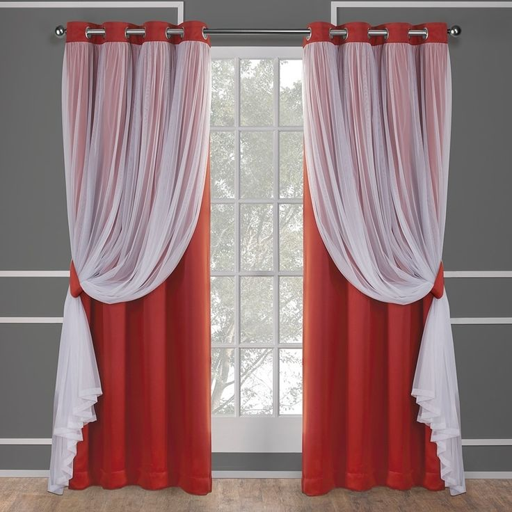 best 25 sheer curtain panels ideas on pinterest curtain. Black Bedroom Furniture Sets. Home Design Ideas