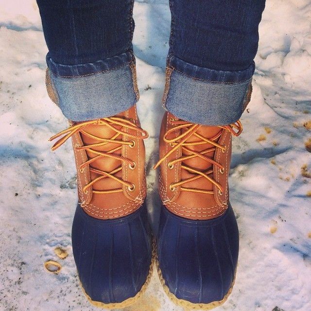 Covering the Bases | Fashion and Travel Blog in NYC by Krista Robertson: LL Bean Duck Boots