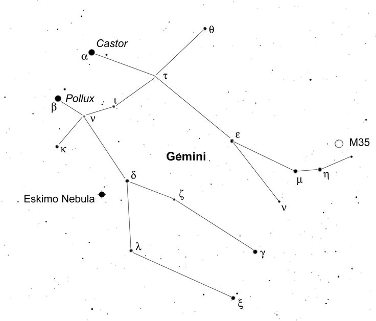 Gemini stars comet ison by castor pollux dec 2013 tracking ...