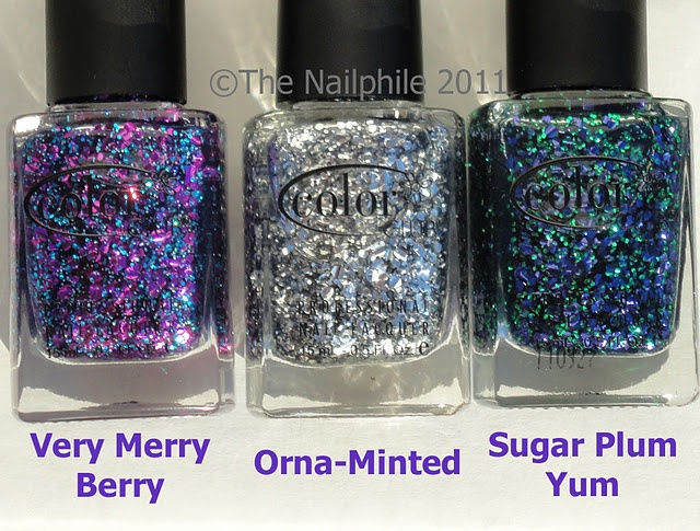 Color Club Scent-suous Holiday Collection of scented nail polishes that's exclusive to Sally Beauty Supply.