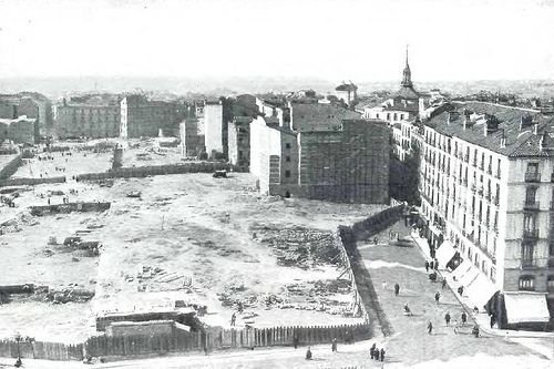 1918. Antes de la Gran Vía. Calle del Desengaño | Flickr: Intercambio de fotos