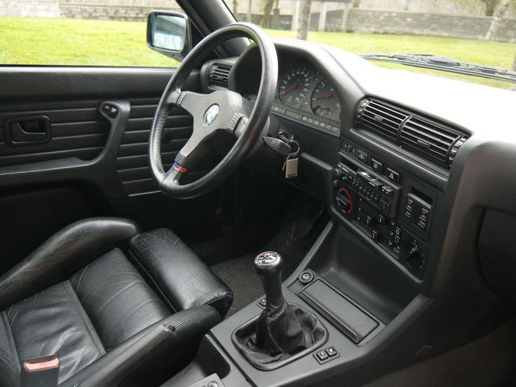 Interior En Cuero De Un Espectacular Bmw M3 E30 Bmw E30