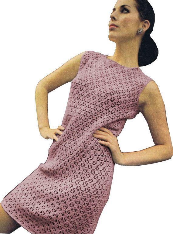 PdF INSTANT DOWNLOAD 51 Ladies 60's Dress Vintage Retro